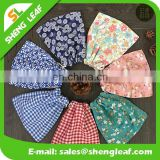 Hot sale product package promotional calico drawstring bag