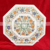 Marble Inlay Table Top Pietra Dura Inlay Marble Table Top