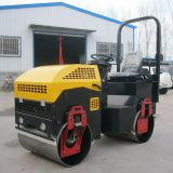 2t Double Smooth Drum Mini Tandem Roller