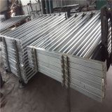Heavy Duty Galvanized Livestock 6 Bar Panel Used For the Cattle Yard