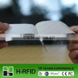 RFID paper tag for library books' management accpet Paypal