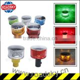 Roadway Safety Flash Warning Solar Traffic Barricade Light