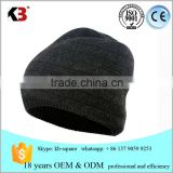 2016 custom merino wool slouchy knitted fabric beanie