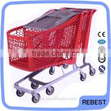 Prime quality vegetable and fruit shopping cart trolley
