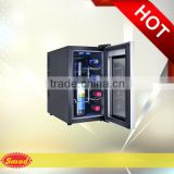 8 Bottles Commercial Vertical Thermoelectric Wine Glass Cooler