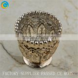 online diamond glass holder printed glass candle yufeng glass crafts home deco                                                                         Quality Choice