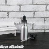 Trade Assurance! wholesale 30ml empty aluminum eliqud dropper bottle with childproof cap