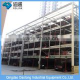 Outdoor 1 class commercial parking 3 levels lift sliding auto puzzle parking system
