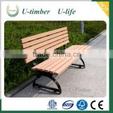 Wood plastic composite wpc bench slats for garden