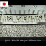 Accurate metal marking stamp or punch for die cutting press at reasonable prices made in japan, for professional craftsman