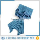 Brand New mermaid tail blanket knit pattern new products 2016                                                                         Quality Choice
