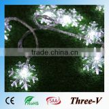 Snowflakes string LED Xmas lights holiday party hotel home corridor window tree decoration LED string light 5M/10M 220V/110V