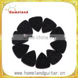 Ukulele Felt Picks 3 Pcs Felt Plectrum Guitar Bass Pick Mediator Genuine Soft Pure Wool Picks