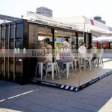 Widly use prefabricated coffee shop, prefabricated shops, prefabricated restaurant with free 3d max design                                                                         Quality Choice