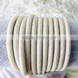 2016 High Class Special WhiteGenuine Polished Stingray Leather Galuchat Fashion Bracelet Material Shagreen Grade A Sting Skin