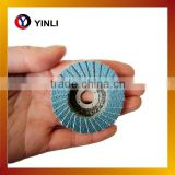 T27 115*16mm abrasive mini flap disc low price making flap disc machine