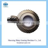 Shaoxing Manufacturer Speed Reducer Spiral Bevel Gear