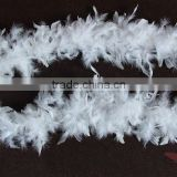 "Wholesale Feather Boas 36g 72"" White Turkey Feather Boa Feather Boas Dress Up For Party Show Decorations"