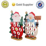 best selling wholesale nice gift christmas decor wood santa claus for sale                                                                         Quality Choice