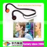 Fashion Christmas gift wireless bluetooth headphone bone conduction microphone