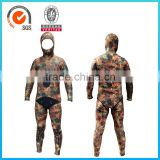 Two Parts Neoprene Spear Fishing Wetsuit