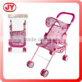 Funny toy doll metal stroller