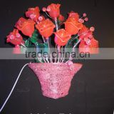 Beautiful factory price hanging basket vese light