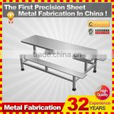 kindle 2014 new professional customized galvanized folding metal chair store