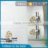 ToBest Wholesale luxury 100% cotton 5 Star Hotel Towels / Bath Towels / Towel Sets                                                                         Quality Choice
