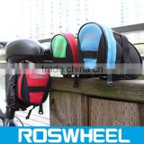 Wholesale hot sale color waterproof mountain road bicycle tail bag bike bicycle saddle bag 13656 leather bicycle bag