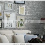 latest 3d brick design decorative wallpaper for restaurant
