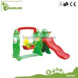 Backyard slide swing set