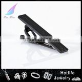 New products 316L stainless Steel black matte bow tie clip with custom logo                                                                         Quality Choice