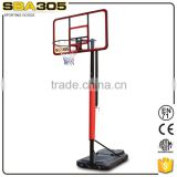 2015 new design solid steel basketball goal post