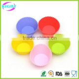 Cake tools colorful baking mold silicone muffin cup