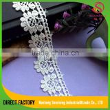 Newest design china-made polyester polish gpo nigerian lace fashion styles for Garment,dress,home textile,cap,bedding