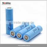 18650 for Samsung INR18650-25R 2500mAh 30Amp High Discharge rate high drain battery cell FLAT Top