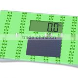 150kg solar body weighing scale small size mini scale portable scale personal body standing scale bathroom scale