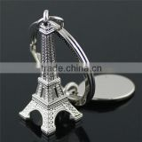 2015 Custom Shape Keychain / China Keychain Manufacturers / Hot Sale Eiffel Tower Keychain