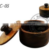 Wooden Shaving Bowl SC-03