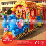 amusement park trains! Professional elephant track train outdoor amusement park trains for sale