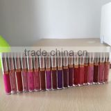 High Quality Waterproof Lipgloss Full-coverage Matte Lip Stick Long-lasting Lip Gloss Factory OEM/ODM Acceptable Wholesale