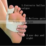 Hallux valgus correction with bigfoot orthopedic appliance with thumb valgus toe night