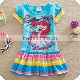 (Q9111) 2-6y 2 colors baby clothes my little pony frocks summer kids girls party dresses