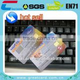 Contact smart card with SLE/Atmel chip