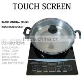 Induction cooker 110V or 220V Household waterproof induction cooker Intelligent Mini Touch screen type induction cooker