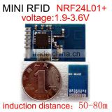Cheap super mini RFID wireless data transfer module 50-80m induction distance can be customized