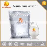 Nano zinc oxide can be used in antibacterial cream