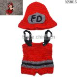 MZ3015 New Top Sale Newborn Photography Props Handmade Crochet Baby Hat
