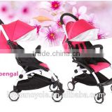 2016 hot sale baby buggy alloy frame folding stroller
